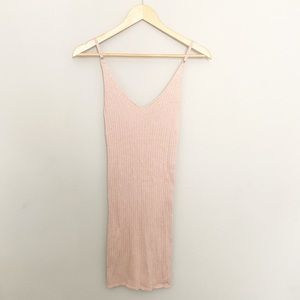 NWT Garage Pink Bodycon Dress Small